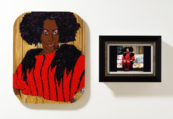 Mickalene Thomas: Happy Birthday to a Beautiful Woman: A Portrait of My Mother